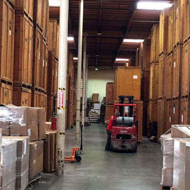 Use Storage Company as Moving Resource